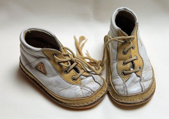 Vybrat dětské botičky je někdy skutečně věda