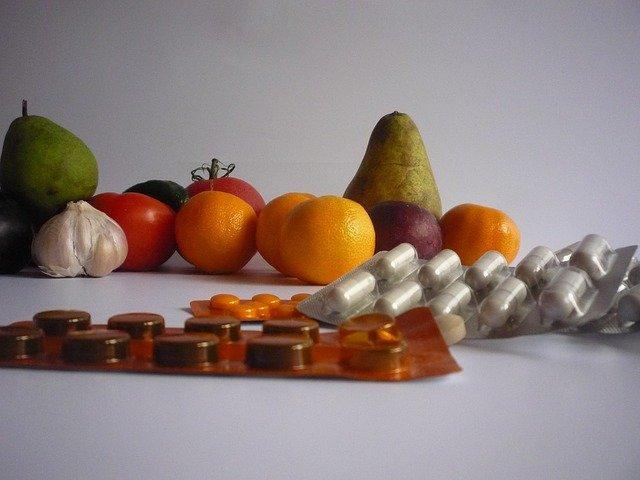 tablety a vitamíny