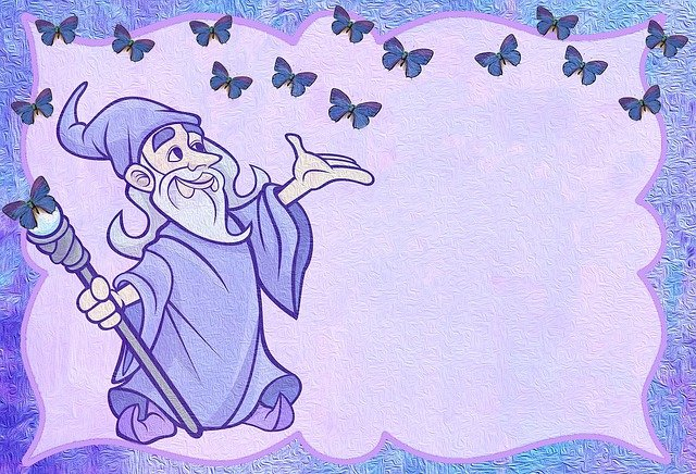 přání s kouzelníkem